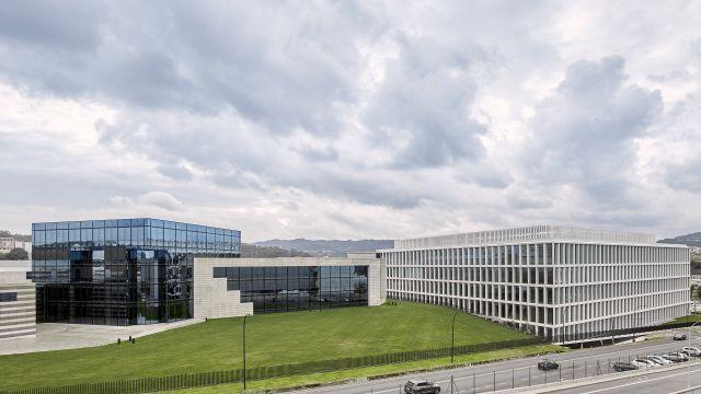 El nuevo edificio de Zara en Arteixo (A Coruña).