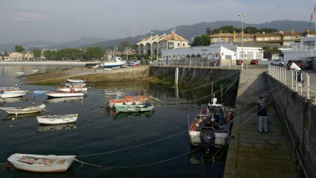 Puerto de Canido, en Vigo