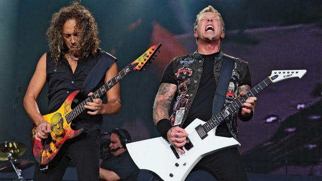 El grupo Metallica.