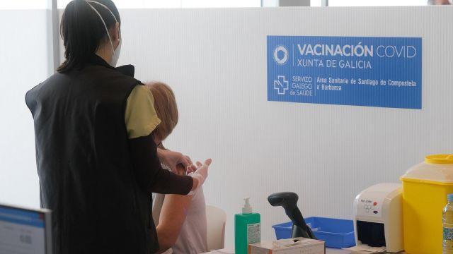 Vacunación en la CIdadade da Cultura