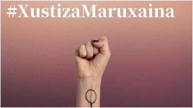 Imagen de protesta en las redes sociales por lo sucedido en la Maruxaina.