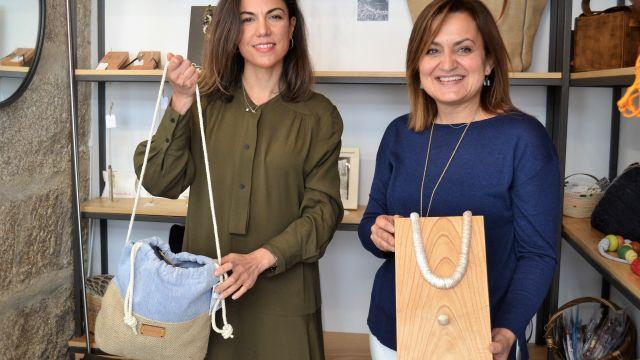 Maruxa Ledo y María José Imia, de Breca Shop.
