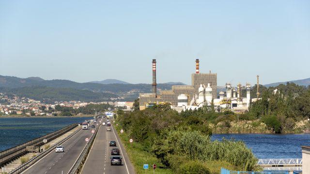 Biofábrica de Ence en Pontevedra.