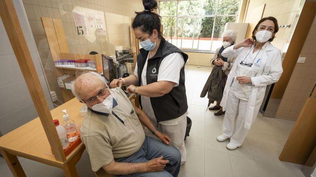 Vacunación en Galicia.