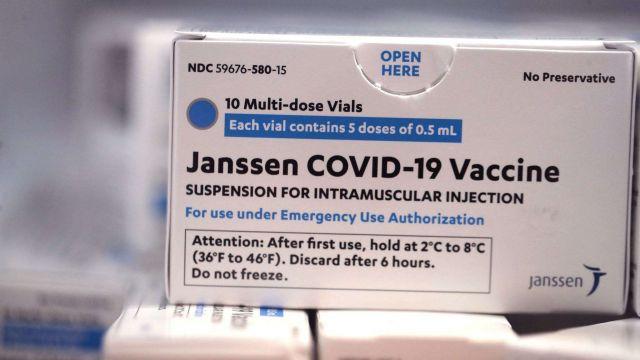 Vacuna de Janssen.