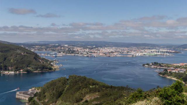 Vista de la Ría de Ferrol