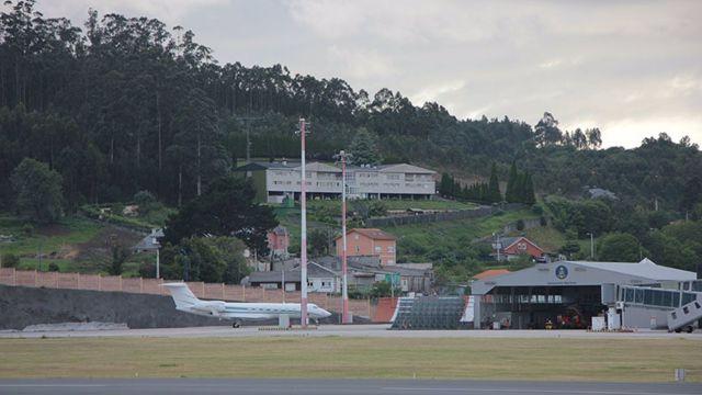 Aeropuerto de Alvedro.