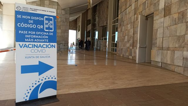 La Cidade da Cultura es uno de los puntos de vacunación Covid-19 en Galicia.
