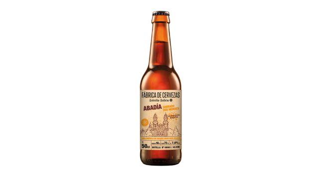 Nueva Cerveza de Abadía Sobrado dos Monxes.