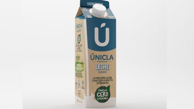 Únicla Cero Emisiones', la primera leche entera con cero emisiones de CO2