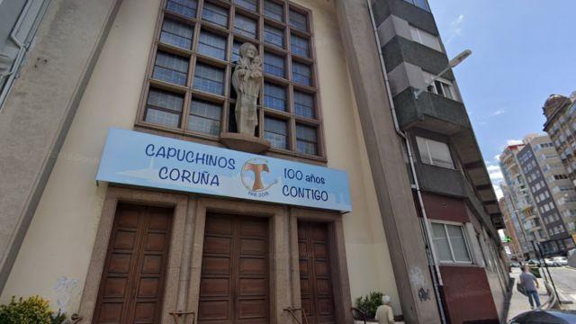 Iglesia de los Capuchinos en A Coruña