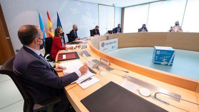 Una reunión del Consello da Xunta.