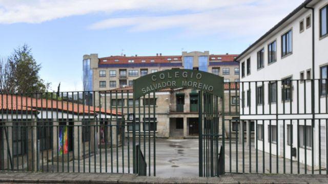 Entrada del Colegio Salvador Moreno en Pontevedra (foto de colegiosalvadormoreno.es)