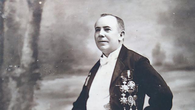 El Conde de Waldemar. Cortesía de la familia
