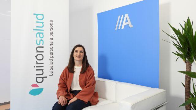 La especialista en Nefrología y jefa de la Unidad de Hemodiálisis del Hospital Quirónsalud A Coruña, Natalia Blanco Castro