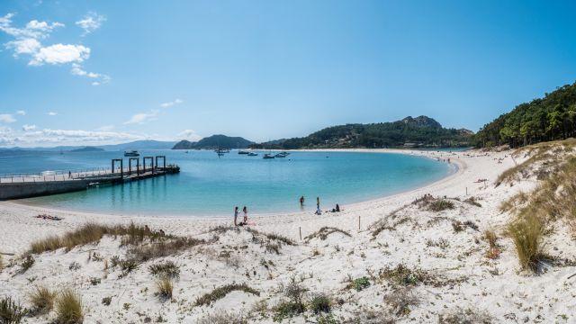 Playa de Rodas, en las Islas Cíes.