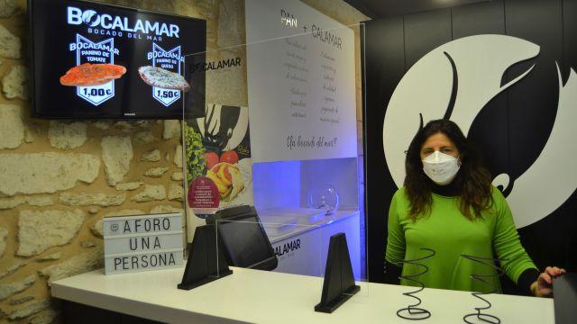 La propietaria de Bocalamar, María José Rodríguez.