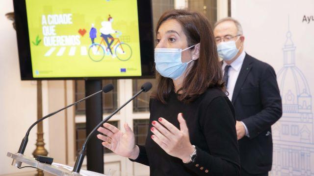 La alcaldesa, Inés Rey.