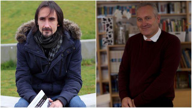Pablo Vila y Manuel Antón Mosteiro.