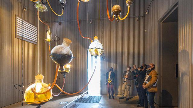 Nueva instalación artística en las torres Hejduk del Gaiás.
