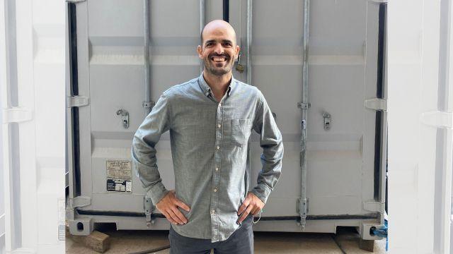El CEO de Container Over Board System (COBS), el vigués Carlos Freire