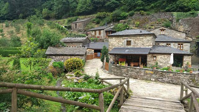 As Veigas en Taramundi (Asturias).
