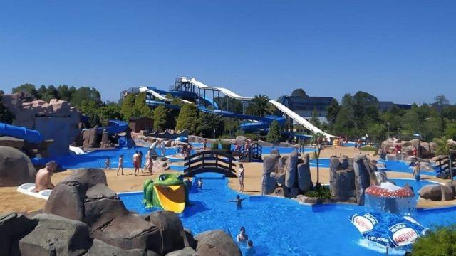 El Aquapark de Cerceda, situado en la provincia de A Coruña.