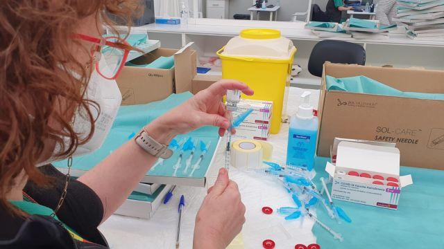 Campaña de vacunación.