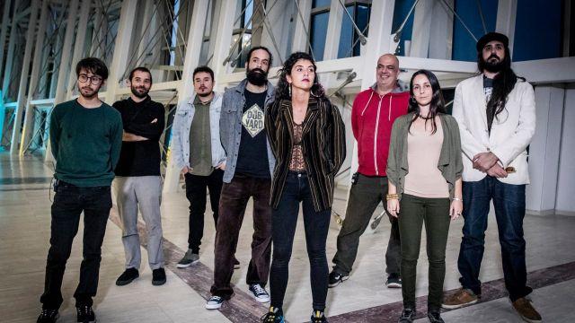 Elephants e Paw es el grupo musical que ha lanzado 'Novas herbas' (Foto de @rociocibes)