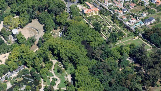 Parque de Castrelos de Vigo.