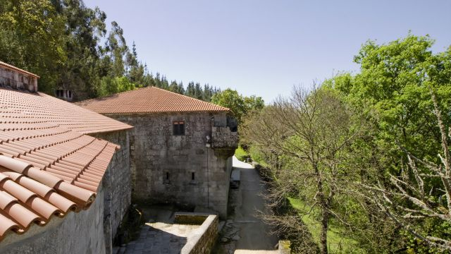Monasterio de San Pedro de Rocas (Foto: turismo.gal)