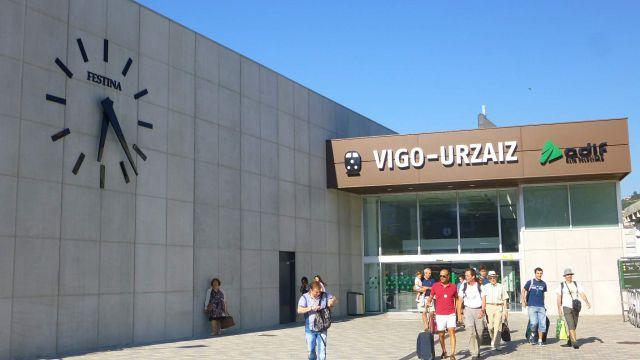 Estación de Vigo Urzaiz.