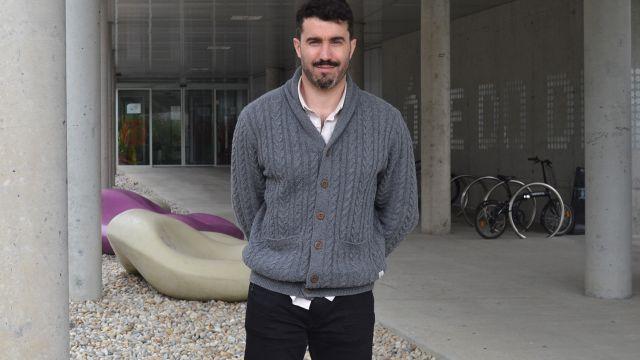 El investigador de la Facultade de Ciencias da Educación e do Deporte Ezequiel Rey