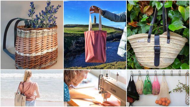 Algunas de las bolsas 'made in galicia' para este verano.