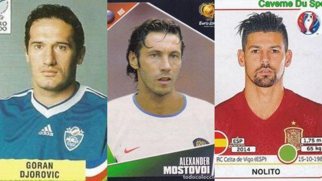 Djorovic, Mostovoi y Nolito son tres de los afortunados futbolistas que han sido convocados para una Eurocopa jugando en el Celta