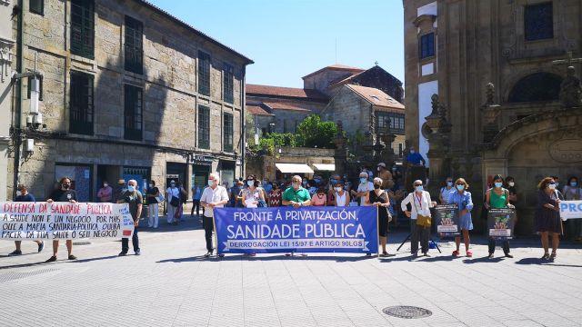 Concentración en Pontevedra.
