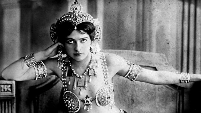 Margaretha Geertruida Zelle, conocida como Mata Hari.