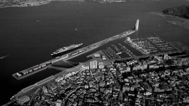 Proyecto de remodelación del Puerto de Vigo 'Peirao XXI'