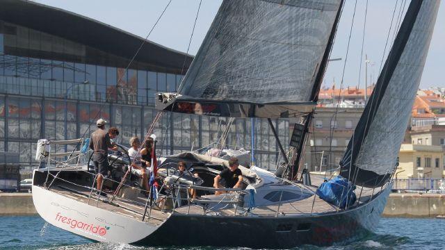 'Bionik', el Baltic 56 de José Angel Quintero y el mayor de los participantes.