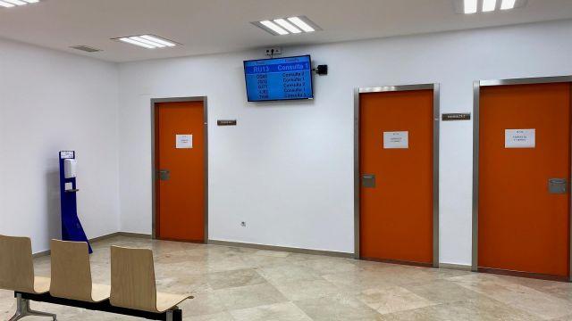 Consultas externas de Farmacia en el Hospital Naval de Ferrol.