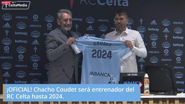 Eduardo Coudet renueva con el Celta hasta 2024