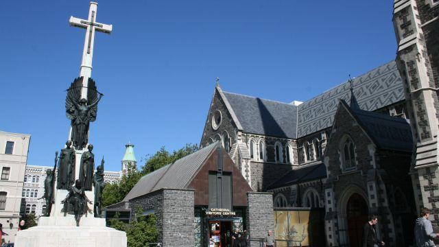 Catedral de Christchurch.
