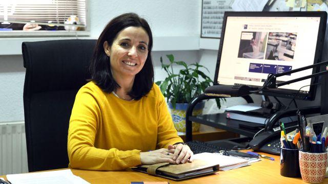 La coordinadora de la Unidade de Atención Psicolóxica de la USC, Ana López Durán.