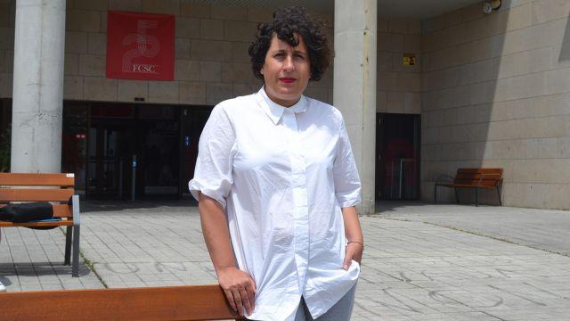 La profesora y productora Beli Martínez.