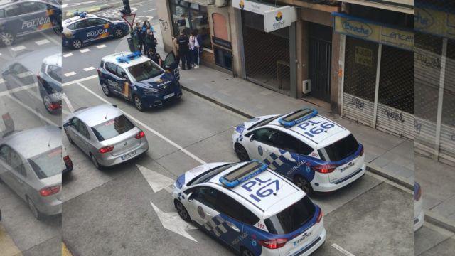 Agentes de la Policía acuden al lugar donde encuentran al menor desaparecido