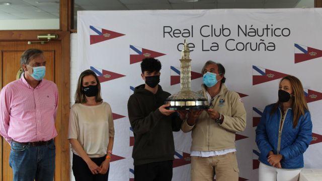 Jaime Miranda y Juan García Tizón, ganadores del 48 trofeo 'Ciudad de La Coruña' de Snipe