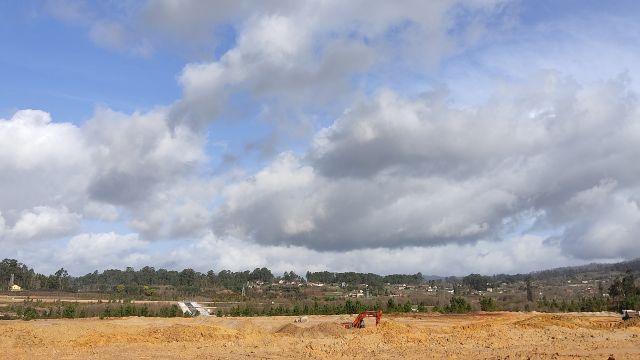 Obras de acondicionamiento del suelo industrial en la Plisan