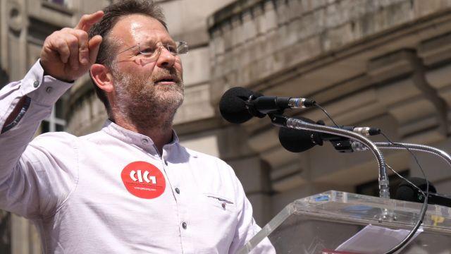 Paulo Carril, secretario xeral CIG
