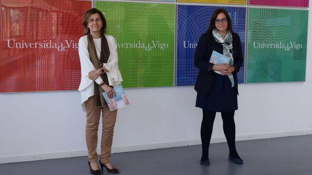 Las investigadoras y docentes del Departamento de Organización de Empresas y Marketing Gloria Caballero y María Jesús López-Miguens.