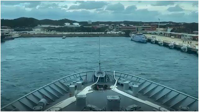 Fotograma del video realizado por los trabajadores.
